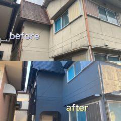 岐阜市外壁塗装完工